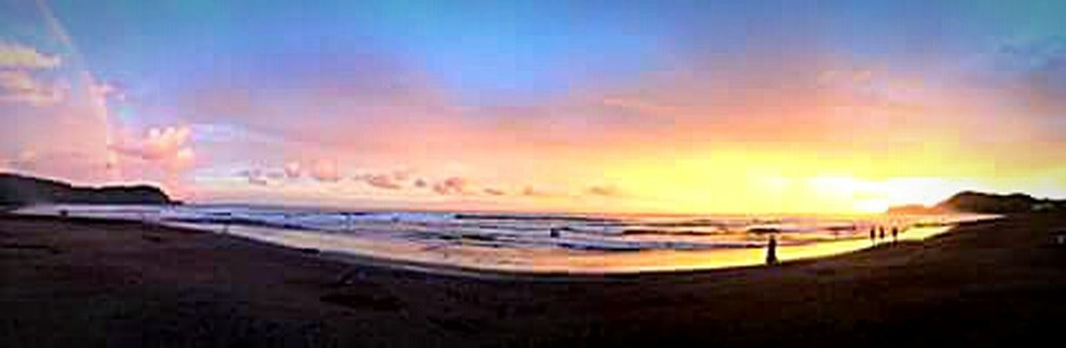 Beach Colors Sunrise Rainbow Panorama Everyday Joy