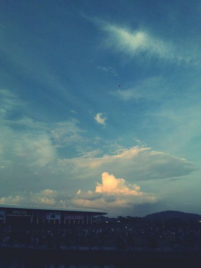 Sky And Clouds Landscape Setia City Mall, Shah Alam city