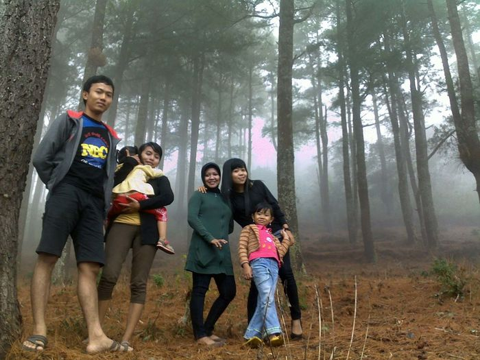 Family Time ♥ under the Pine Trees