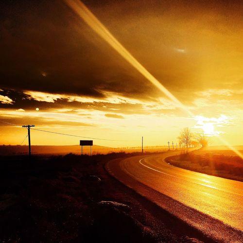Sunset in Dobrogea, ROMANIA. First Eyeem Photo