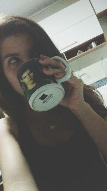 Tomando meu coffe de boa com Jacob Jacob TwilightSaga Love ♥ Coffee