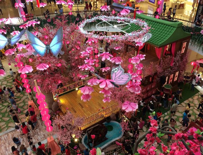16 days to Chinese New Year 2019 Congestion Hi Spirit Decoration Indoors  Decoration Multi Colored High Angle View Art And Craft Variation Abundance Large Group Of Objects Craft Illuminated Lighting Equipment Retail Display