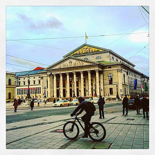 Bayern Bavaria Munich München Operahouse Classic Classical Music Staatsoper Architecture Hello World City EyeEm Gallery Germany Travel View