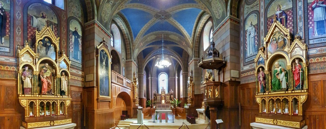Kein Mensch ist in der Lage, das nachzuvollziehen, was er selbst nie erlebt hat . . . . . . . . . . . No one is able to understand what he has never experienced Panoramic Photography Panoramic View Panoramashot Altar Abtei Kloster Have A Nice Day♥ My Picture 2018 Samsungphotography Samsung S8 Mobilephoto Eyeem Photography GERMANY🇩🇪DEUTSCHERLAND@ Malephotographerofthemonth Alone But Not Lonely On The Road Panoramic View Altar Place Of Worship Spirituality Architectural Column Religion History Arch Window Architecture Abbey Stone Material