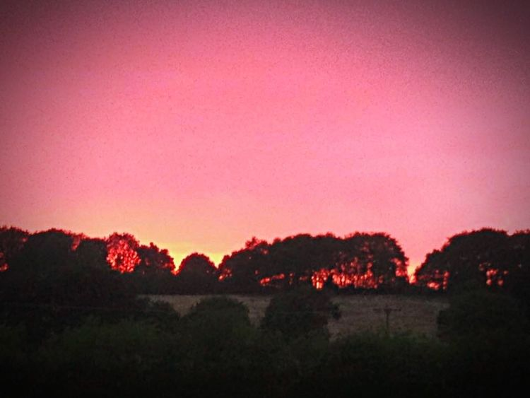 Red Sky At Night... Countryside Sunset Sunset_collection