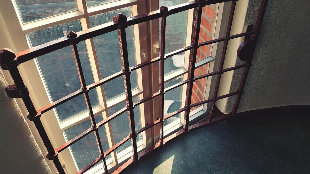 Gitterfenster Windows Fenster Absperrung EyeEm Selects Indoors  No People Day Architecture Close-up Prison