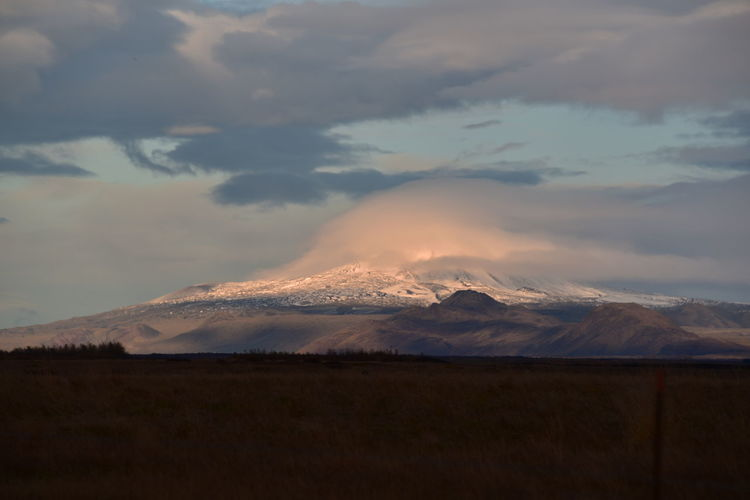 Iceland Island Iceland Trip Icelandic Landscape Landscape_photography Sky Clouds Clouds And Sky Beauty In Nature Scenics - Nature No People Outdoors Nature Tranquil Scene Tranquillity Tranquility Scene Landschaft Landschaftsbilder Mountain Range Snowcapped Tranquility Majestic Mountain Peak
