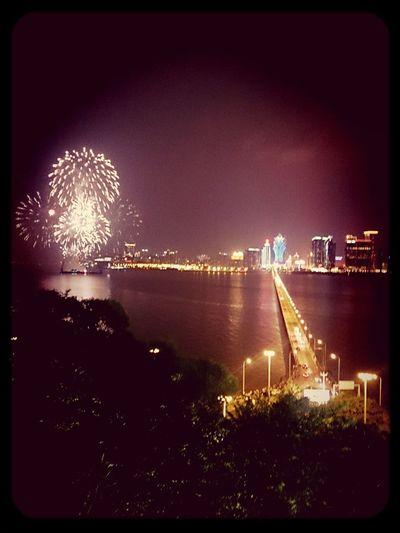 今夜煙花燦爛* Fireworks , Goodnight✌