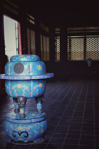 Pray Indoors  Architecture Korean Emperor Blue Travel Destinations Connected By Travel Historical Building