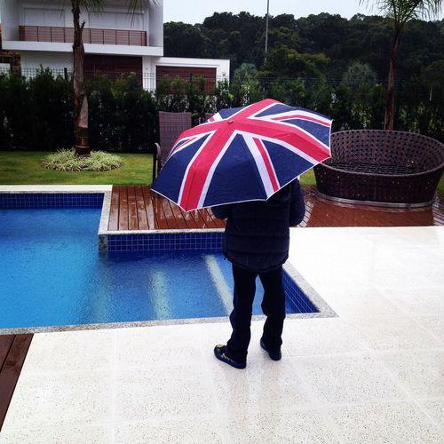 E chove em Floripa ... Filhoamormaior