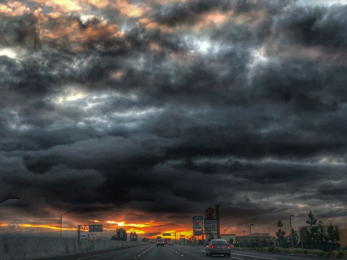 Good Morning Cloud - Sky Sunrise Sunrise_sunsets_aroundworld Good Morning Morning Hdr_Collection HDR Cloud - Sky Sky Transportation Dramatic Sky Storm Cloud Beauty In Nature