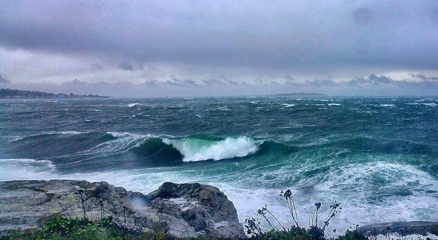 Ocean Angry Ocean Ocean Waves Stormy Weather Stormy Seas Blue Sea WestCoast Westcoastisthebestcoast👌