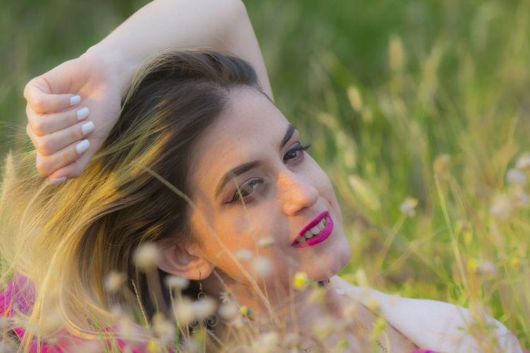 Portrait attempt, Ivette here Beautiful Woman Portrait Young Women Beauty Headshot Beautiful People Long Hair Day Dreaming Women Close-up Blooming In Bloom Fragility