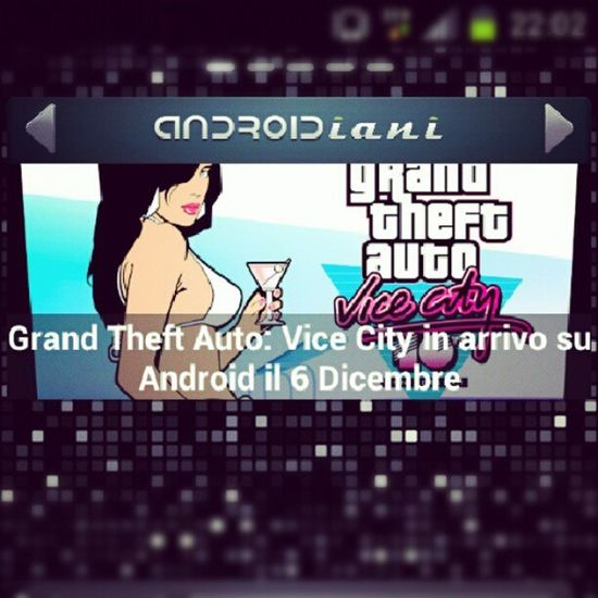 Yes! GTA Vicecity Android Retrogaming