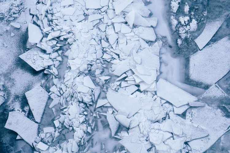 Frozen river Backgrounds Close-up Cold Temperature Day Destruction Frost Frozen Ice Nature No People Outdoors Winter The Great Outdoors - 2017 EyeEm Awards