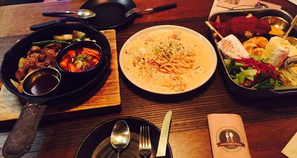 먹방cook Steak Dinner Cream Pasta Daegu, Korea Delicious ♡ Vin Plus