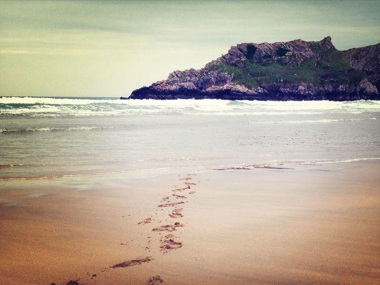 Beach West Wales Wales Sea