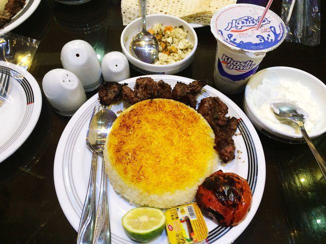 Yummy Lunch Time! Delicios Kabab Kabab Torshe Gilan Gilan Iran♥ Iranian Girl Lunch Good Times Bff
