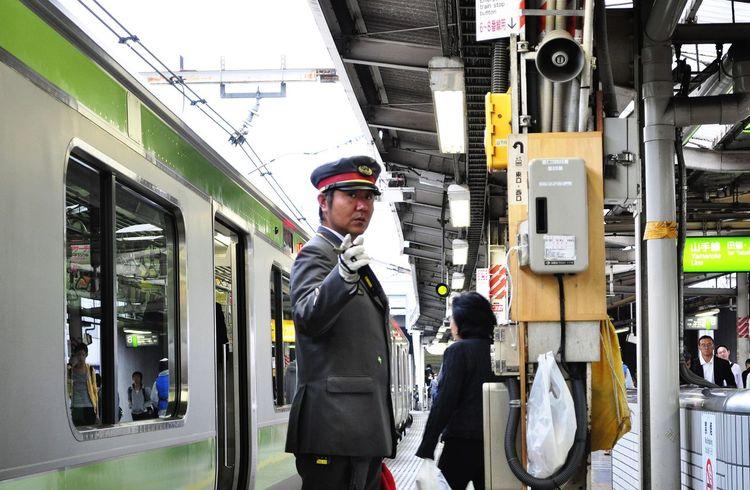 Tokyo Station Train Station Railway Station Railway Railroad 山手線(JR Yamanote Line)
