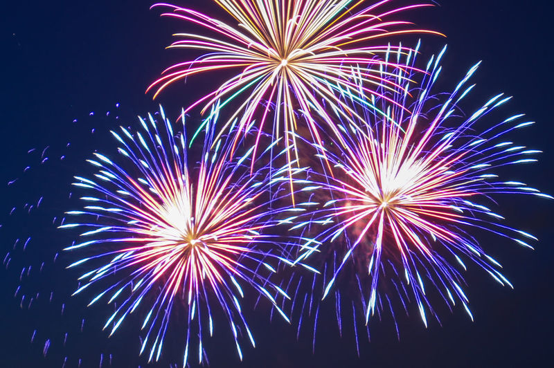 Explosion of Color in the Night Sky Colourful EyeEmNewHere Fireworks Celebration Colorful Exploding Explosion Of Color Firework Firework - Man Made Object Firework Display Fireworks In The Sky Fireworksphotography Glowing Illuminated Light Long Exposure Multi Colored Night Sky Sparks