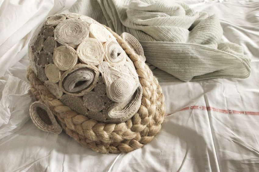 My masks | SOCRATE IL SOPRAVVISSUTO/come le foglie | ANAGOOR | Masks Fabric Hemp My Work My Design Handmade Close-up Theatre Lifestyles Who What Where I Love My Work Still Life White Album Personal Perspective Fine Art EyeEm Italy |
