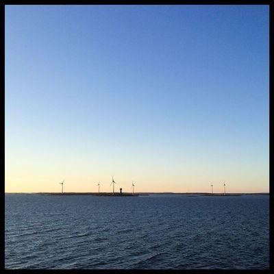 Windmills at Båtskär in the archipelago of Åland. åland  Finland Visitåland Visitfinland