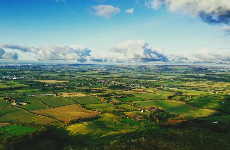 View from Carlton Bank North Yorkshire Moors North Yorkshire Uk North East England Countryside Walking Hiking Adventures Roseberry Topping Carlton Bank Moors Showcase March Landscapes With WhiteWall The Great Outdoors - 2016 EyeEm Awards Flying High