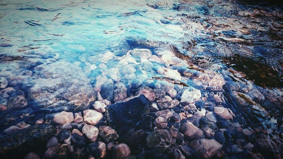 Riverside Stones & Water VSCO Water Vivid Colours  Tarragona