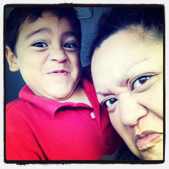 Being Silly Funny Faces Fun Going To School