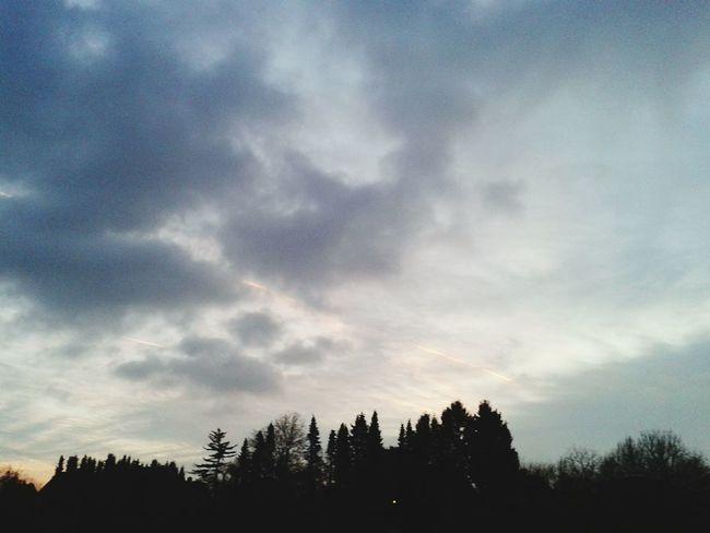 Himmel über Bramsche sky over Bramsche
