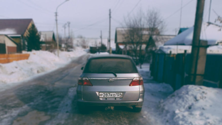 2017 Automobile Blur Car City Cold Temperature Day Focus On Foreground Land Vehicle Mode Of Transport No People Outdoors Road Russia Snapseed Snow Snow ❄ Stationary Transportation VSCO VSCO Cam Vscocam Vscogood Winter Winter The City Light EyeEmNewHere