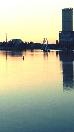 Beautiful berlin in the morning