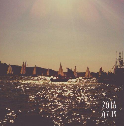 Brest2016 Brest 2016 Boats Boat Sun Sunset Summer