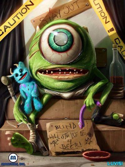Mike Wazowski Monsters INC