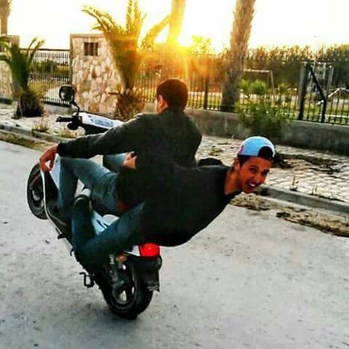 Some  Fun With Friend Bike Stun