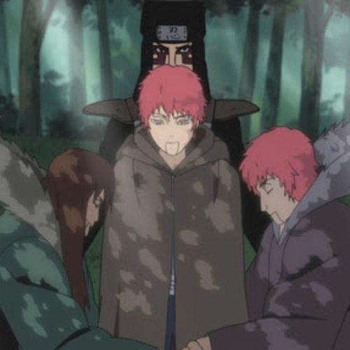 Sasorilife Father Mother Kankuro Naruto Narutoshippuden Episode319