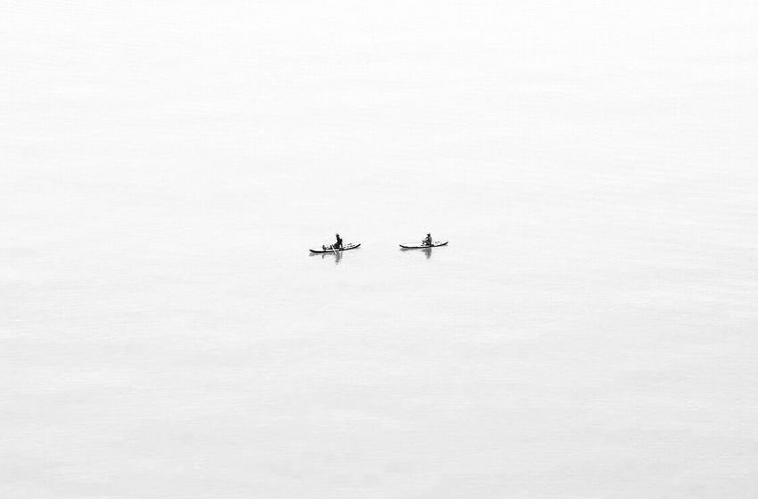 White Sea Travel Photography Empty Nature Flying Breathing Space Anything Everything Lamdscape Beauty In Nature No Colors EyeEmNewHere Lost In The Landscape Black And White Friday