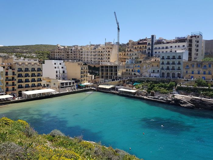 Xlendi view, Gozo Malta Medeteranian Sea Mediterranean  Holiday No Filter Tourquise Sea Gozo Island Malta Tourist Resort Cityscape City Apartment Water Sea Residential Building Beach Housing Development Home Ownership TOWNSCAPE Marina