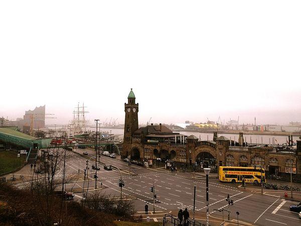 City Cityscape Architecture Hamburg Cultures Philharmony Hamburg Elbe River Clock Tower Outdoors