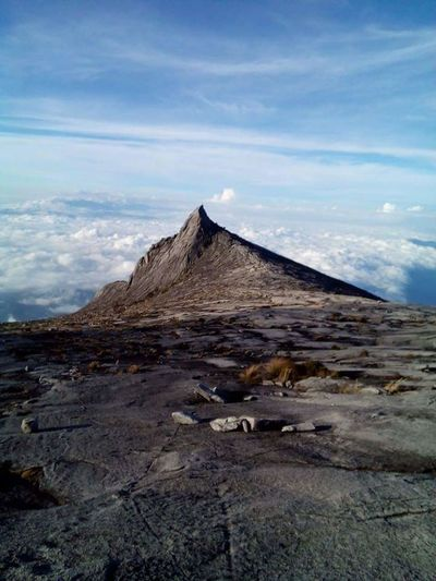 Mounth Kinabalu Low Peak, Sky Nature Landscape Geology Cloud - Sky Outdoors Beauty In Nature Scenics No People Day Nature Reserve
