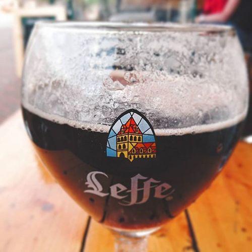 Enjoying a Leffe Belgiumbiers Goodlife