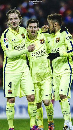 Football club Barcelona Messi10 Neymar11 Rakitic4 ??