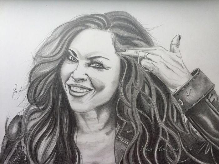 Carla Harvey portrait Long Hair Toothy Smile Portrait Artistic Drawing Art, Drawing, Creativity MyArt Human Face My Artwork Fanart Art #illustration #drawing #draw #tagsforlikes #picture #photography #artist #sketch #sketchbook #paper #pen #pencil #artsy #in ArtWork Artist Fabercastell Pencil Pencil Drawing Looking At Camera Artistic Expression Art