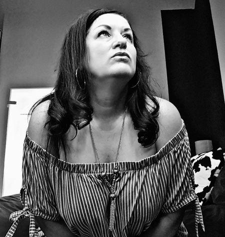 #photography #sensual_woman #JustMe #picoftheday #adultOnly #sensual #EyeEm #sexy #blackandwhite Portrait Beautiful Woman Women Front View Striped Posing