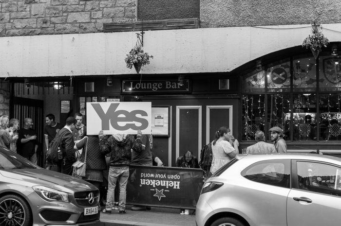 Britain Edinburgh HollyroodHouse Politics Referendum Referendum2014 Scotland Scottish Refferendum United Kingdom Yes Campaign
