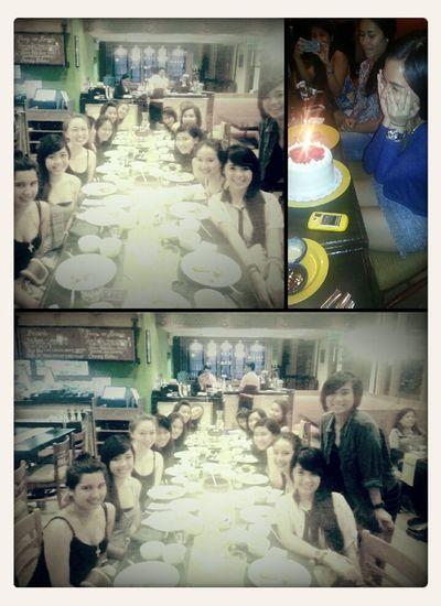 Dia's Dinner Celebration. :)