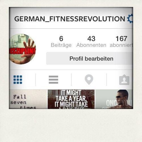 Fitness Follow Me On Instagram