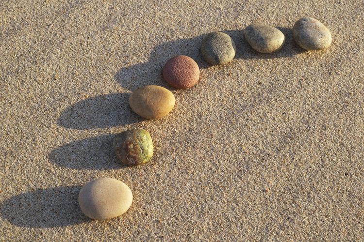 Pebbles on a