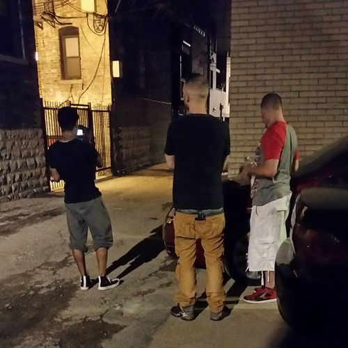 Some people say they got u no matter what....some people show it and don't say to much BTS shooting my video Diamondintherough wit my Bros @peoplezsinatra x @cainwildbeats