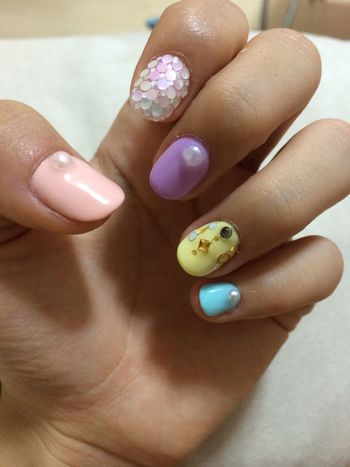 New design for my nail. Nails